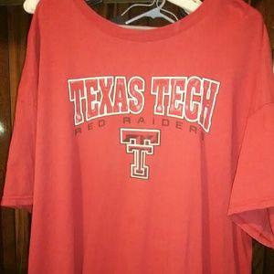 Texas Tech t shirt